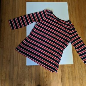 striped top from the Limited